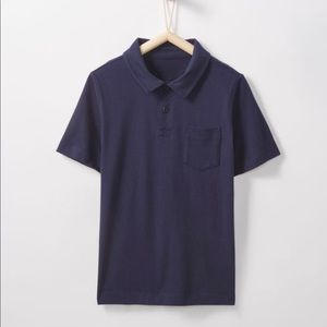 Hanna Andersson Sueded Jersey Polo